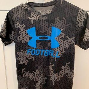 Youth medium under Armour football shirt